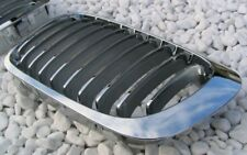 VOLL CHROM FRONT GRILL KÜHLERGRILL GITTER BMW E46 3er CABRIO COUPE 99-02 M3-LOOK