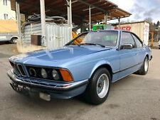 BMW 630 CS Coupe E24 mit 635 CSI M30 Motor Schaltgetriebe BBS Felgen Oldtimer