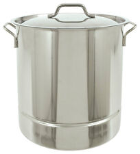 Bayou Classic 1310 10 Gallon Tri Ply Bottom Stockpot With Lid 40 Quart