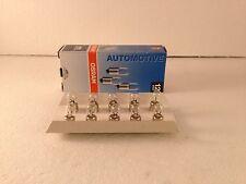 10 x Osram Lamp 12V 4W BA9S T4W 3893 Bulbs Interior Lights Bulbs
