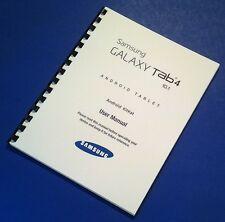 Samsung Galaxy Tablet Tab 4 10.1 (Wi-Fi) (SM-T530) User Manual