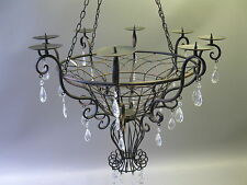 Deckenlampe  Lüster Kronleuchter Florentiner Lampe Kerzenleuchter Hängeleuchter