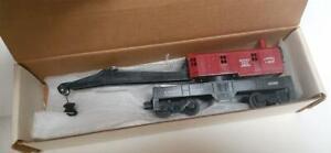Postwar Lionel 6560 Red Bucyrus Erie Crane Car  Mint Unused