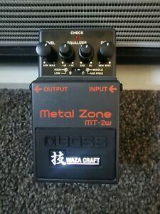 Boss Metal Zone Mt 2w