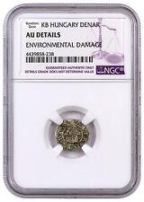 Random 1450-1620 Hungary Silver Denar Madonna & Child NGC AU Details SKU44472