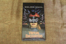 Virtual Encounters (NEW SEALED VHS) Director's Uncut Version Elizabeth Kaitan