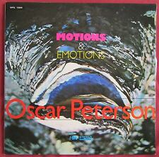 OSCAR PETERSON   ORIG LP FR MOTIONS AND EMOTIONS  MPS