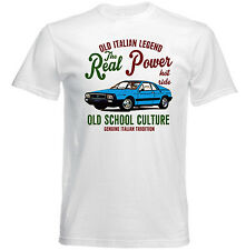 VINTAGE ITALIAN LANCIA BETA CAR - NEW COTTON T-SHIRT