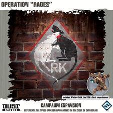 Dust Tactics: Operation Hades NEW / MINT / SEALED