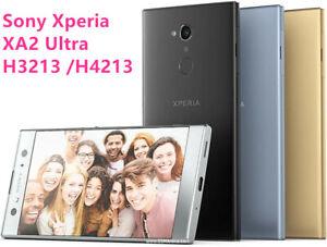 "Original Unlocked Sony Xperia XA2 Ultra H3213 /H4213 6"" 4G/3G Wifi 23MP Phone"