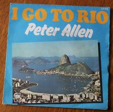 Peter Allen, i go to Rio / the more i see you, SP - 45 tours