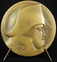Medal to L'em Pereur Napoleon Bonaparte Caricarture 1769- 1969 K Zeman Medal
