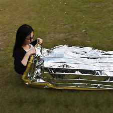 Emergency Survival Outdoor Kit Rescue Thermal Space Sleeping Bag Blanket OZ