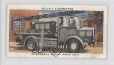 1938 Wills Air Raid Precautions Tobacco Base #25 Emergency Heavy Pump Unit 0d4