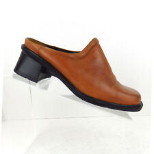 Naot Women Size EU 38 Mules Clogs US Size 7 7.5 Medium Brown Shoes