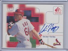 CHRIS HAAS 1999 SP Signature Autograph #CHa  (B7612)