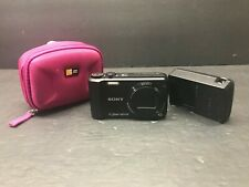 Sony Cyber-shot DSC-H70 16.1MP Digital Camera w/video and pano - Black charger