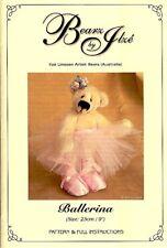 """Bearz by Ilze Teddy Ballerina Schnittmuster 23cm 9"""""""