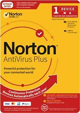 Norton Anti Virus Plus 2020, 2GB, 1 User, 1 Devices, 12 Months, PC, MAC, Android