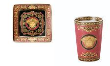 Versace Rosenthal Medusa Set Coppetta quadrata Mug/portapenne Matite