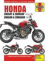 Honda CB650F CB650R CBR650 CBR650F CBR650R 2014 - 2019 Haynes Manual 6461 NEW