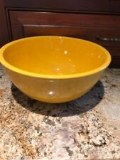 TIFFANY & Co. CAUGHLEY BY STANGL SPONGEWARE POTTERY YELLOW LARGE BOWL 1960'S