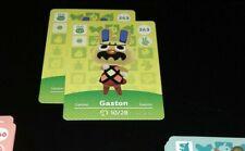 Animal Crossing Amiibo Cards Series 3 263 Gaston モサキチ Mosakichi