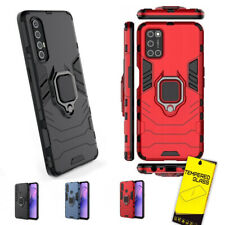 For OPPO Reno 3 Pro A12 A52 A72 Armour Shockproof Stand Phone Case Screen Protec...