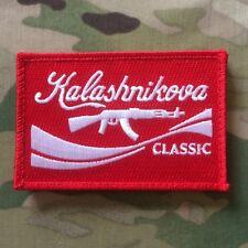 Kalashnikova Classic Morale Patch Red AK47 AK-47 Krinkov Kalashnikov