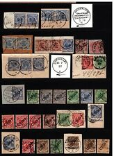 German Offices in China - Large Stamp & Cancel Collection - Nice Variety