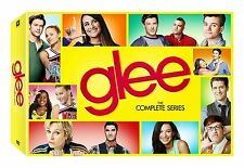 Glee: The Complete TV Series Cory Monteith Seasons 1 2 3 4 5 6 DVD Boxed Set NEW