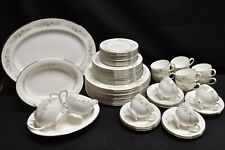 Wedgwood Westbury R4410 12 Place Settings Plus! Large Complete Set of 66 Pieces!