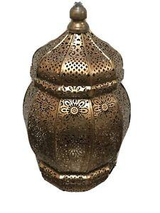 Moroccan Lamp Pendant Metal Ceiling Light Hanging Lantern Lamp ZENDA IMPORTS