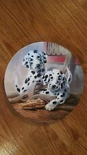 Its a Dog's Life - We've Been Spotted Knowles 8 Inch Collector Plate