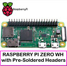 Raspberry Pi Zero WH with Built-in WiFi and Bluetooth, Soldered Headers- SPECIAL