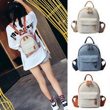 Women's Small Mini Rayon Backpack Rucksack Daypack Travel Bag Purse 2 sizes