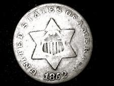 1852 3-Cent Silver Piece