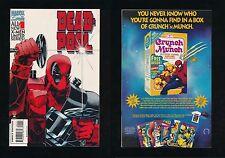 DEADPOOL #1 LIMITED SERIES MARVEL COMICS AUG 1994 X-MEN UNPRESSED