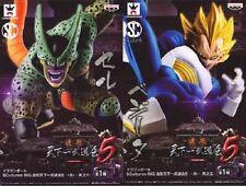 Dragon Ball SCultures BIG Vol.5 #5 & #6 CELL & VEGETA Set Figure Banpresto