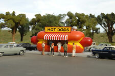 Bachmann Scene Scapes H O Building Hot Dog Stand 35206 NEW