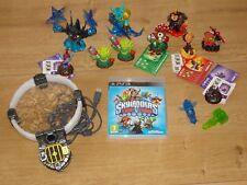 12x Skylanders Figuren Trap Team + Portal + PS3 Spiel mega rar  PS4 Wii Xbox