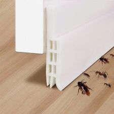 Under Door Bottom Seal Weather Strip Silicone Draft Stopper Bug Insect Stopper