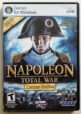 Napoleon Total War Limited Edition 2009 PC DVD game