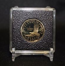 26mm Small Dollar 2x2 Coin Display Holder QUADRUM INTERCEPT Capsule Case + Stand