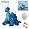 """Dinosaure Brachiosaurus 16 """"/ 40cm Construire Votre Propre Ours Fabrication Kit"""