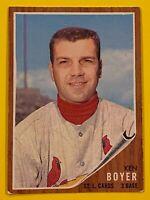 Ken Boyer-1962 Topps