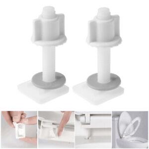 Home Bathroom Toilet Seat Repair Screw Kits 2 Screws + 2 Bolts + 2 Washers