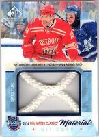 PAVEL DATSYUK 2015-16 SP Game Used NHL Winter Classic Materials NET CORD #18/35