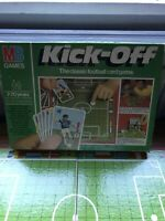 Vintage 1980s Milton Bradley MB Games Kick-off Football Card Game Board Game
