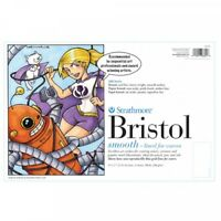"Strathmore BRISTOL BOARD 9x12/"" or 11x14/"" VELLUM Semi-Smooth 20 sheets Comic Art"